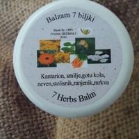 Balzam 7 biljaka