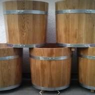Drveni cvjetnjaci / Oak vats for exteriors and interiors