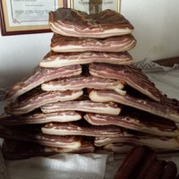 Domaća slanina  - panceta
