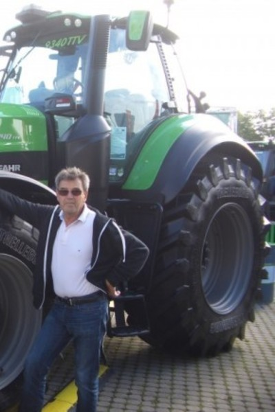 Dražen s ocem na Poljoprivrednom sajmu u Stuttgartu